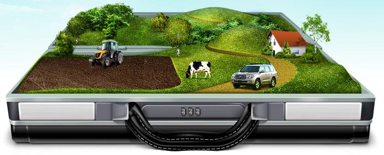 В последнее время наблюдается рост спроса на участки, предназначенные для сельскохозяйственных работ