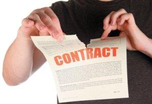 Как расторгнуть договор с агентством недвижимости
