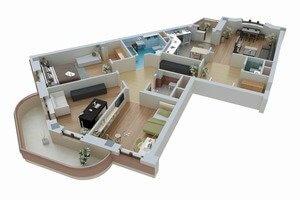 Наиболее часто встречающиеся планировки домов