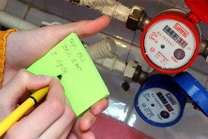 Расчет общедомового потребления горячей воды