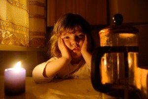 Что делать, если отключили электроэнергию