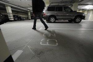Расстояния от парковок до детских площадок