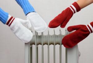 Температра в квартире в холодный период времени