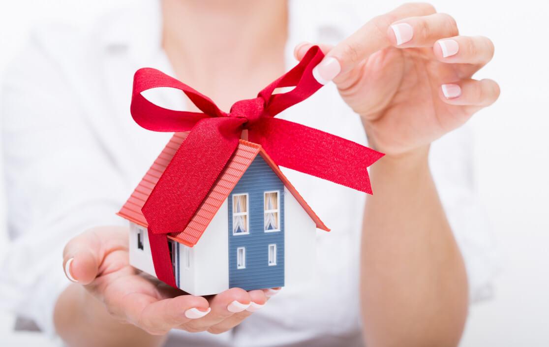 Подарить подаренное мужем имущество
