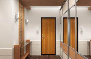 Расширение площади ванной за счет большого коридора