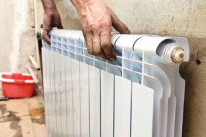 Замена старого радиатора