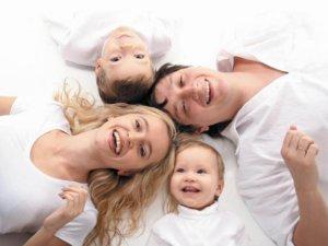 Семья с 2 детьми
