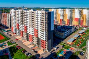 Многоквартирный дом в Москве