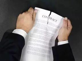 При расторжении договора в одностороннем порядке следует действовать грамотно, это поможет избежать уплаты неустоек и штрафов