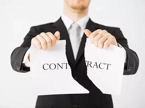 Договор аренды может быть расторгнут досрочно, в частности - в случае, если имело место несоблюдение основных условий договора