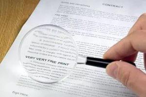 Дополнительные условия договора начинают свое действие автоматически. после заключения договора