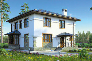Что такое кирпичная конструкция дома