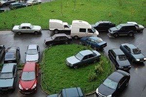 Предусмотренные расстояния от мест для хранения автомобилей до объектов застройки