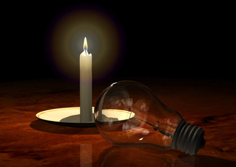 Причины отключения электроэнергии