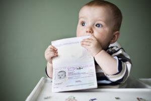 Регистрация новорожденного ребенка по месту жительства родителей