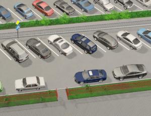 Организация парковки на придомовой территории  принадлежащей муниципалитету  и права жильцов