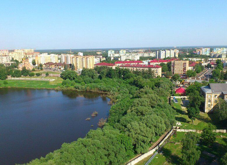 Жилые кварталы Москвы