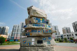 Памятник студенческим стройотрядам