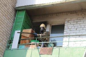 Пожарный в квартире