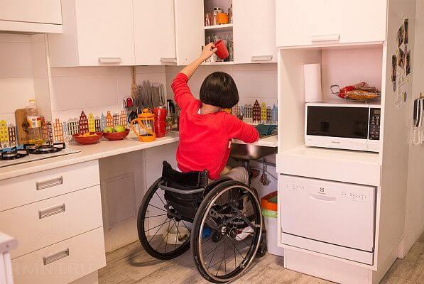 Улучшение жилищных условий для инвалидов