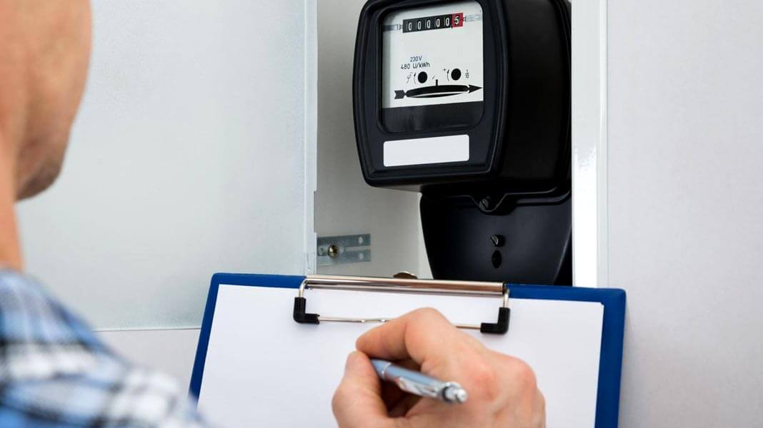 Регистрация электросчетчика