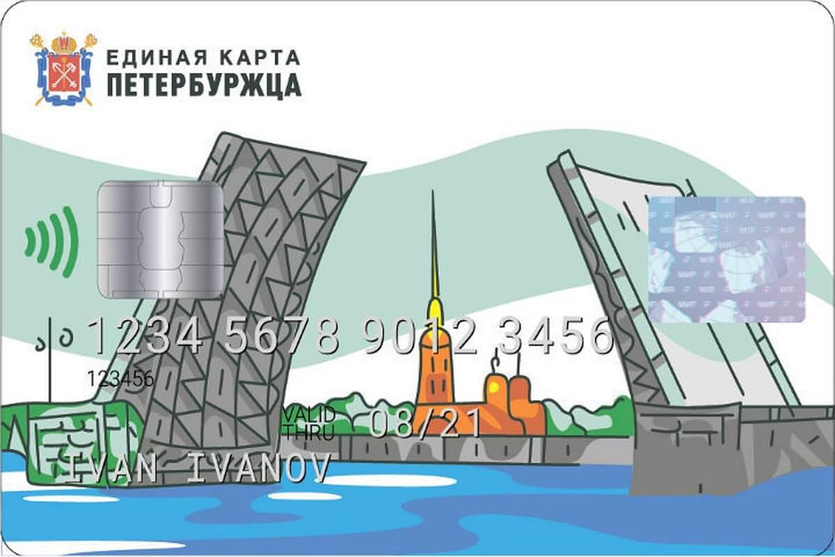 Социальная карта петербуржца